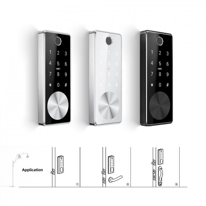 Upgrade Smart Lock Modern Smart Digital Bluetooth Access Electronic Fingerprint Door Locks