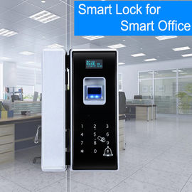 Office Entrance Glass Door Lock Five Ways To Unlock Long Battery Life Span