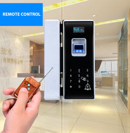 RF Card Biometric Glass Door Lock Semiconductor Sensor Big Data Capacity