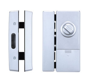 China RIFD Card Password Glass Door Lock 188mm * 75 Mm For Office Security supplier