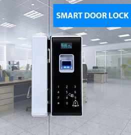 Glass Door Electronic Door Locks With Fingerprint Password Remote Control