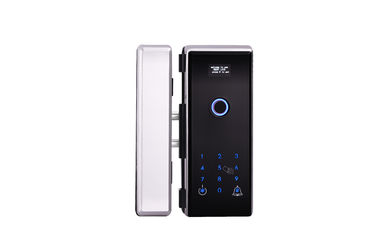Security Office Smart Biometric Fingerprint Card Code Combination Glass Door Lock