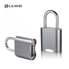 Fashion Bluetooth Password Silver Warehouse Padlock Zinc Alloy