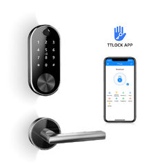 Smart Door Lock Wireless Bluetooth Control Digital Fingerprint Split Electronic Aluminum Alloy