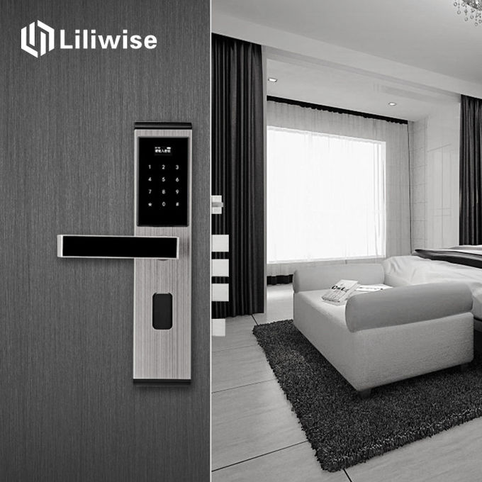 Keyless Access Apartment Door Locks Stainless Steel For Smart Home