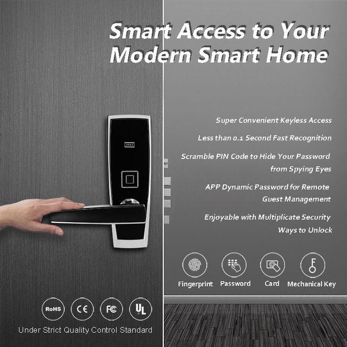 Commercial Fingerprint Door Lock , Durable Electronic