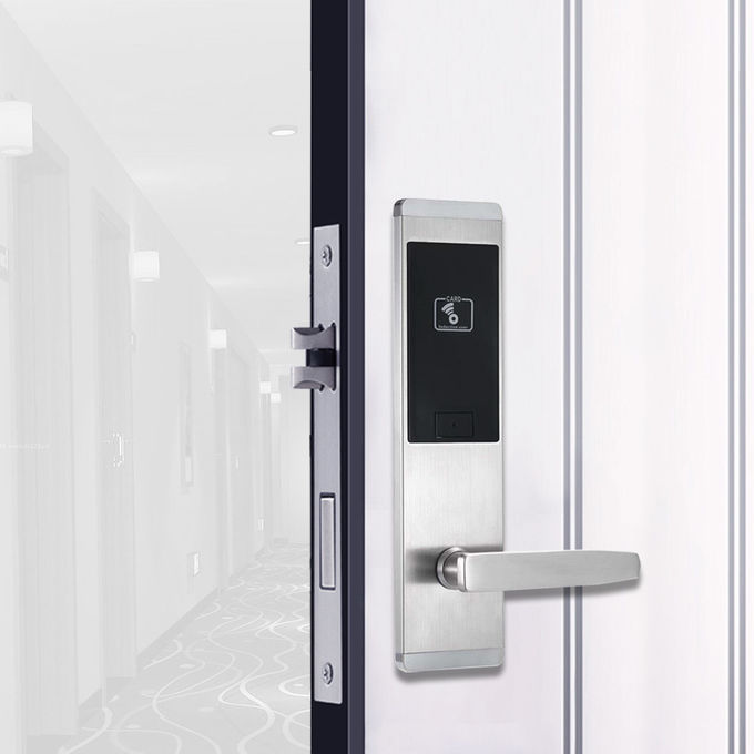 Office Building / Hotel Door Lock System RFID Card 13.56MHz 3 Years Warranty​